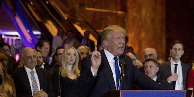 """Donald Trump elogió el trabajo de Manafort en la campaña y lo calificó de ser un """"verdadero profesional"""". Foto:Getty images/ Archivo"""