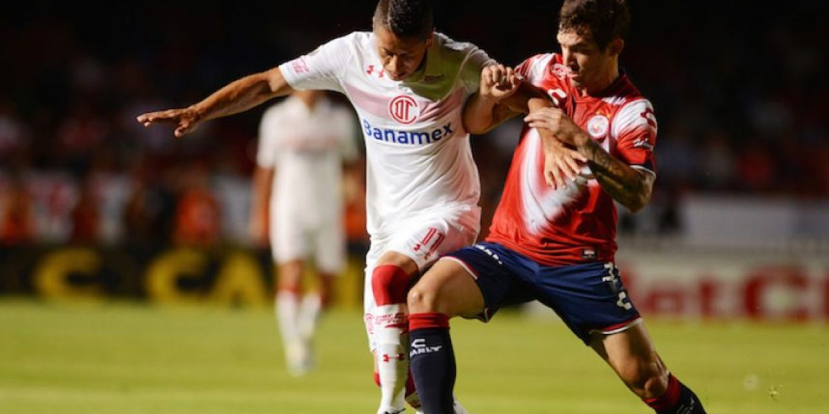 Veracruz y Toluca reparten puntos en entretenido duelo