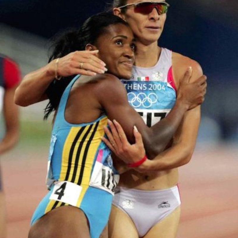 Ana Gabriela Guevara, atletismo, plata, Atenas 2004 Foto:Mexsport
