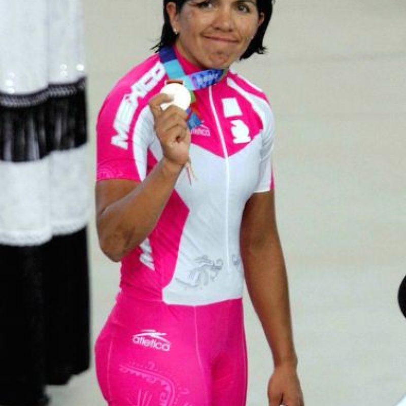 Belem Guerrero, ciclismo, plata, Atenas 2004 Foto:Mexsport