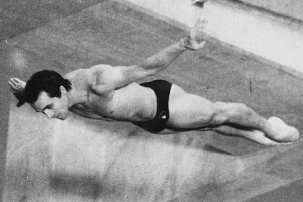 Carlos Girón, clavados, plata Moscú 1980 Foto:Archivo