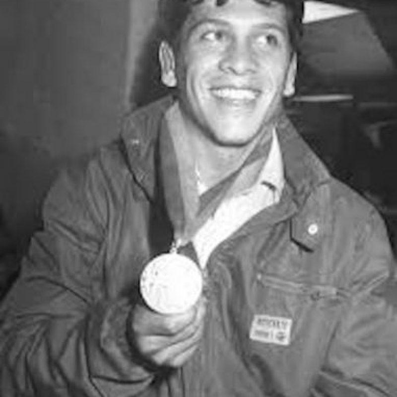 Daniel Aceves, lucha, plata, Los Ángeles 1984 Foto:Archivo