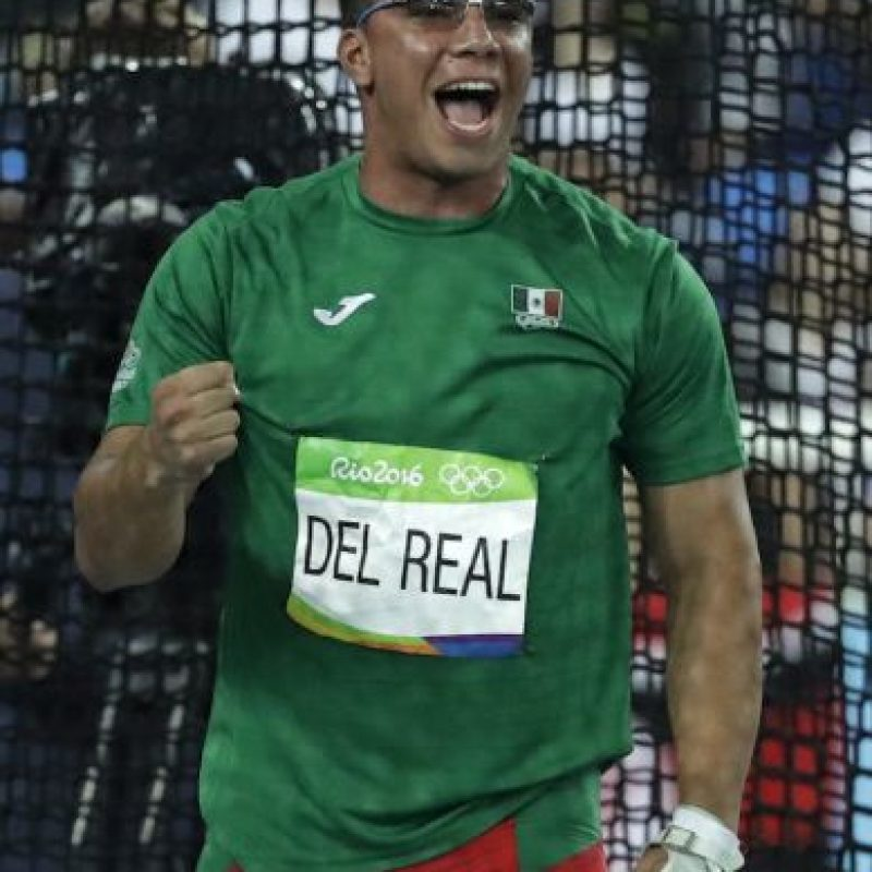Mexicano Diego del Real da actuación histórica en lanzamiento de martillo Foto:AP