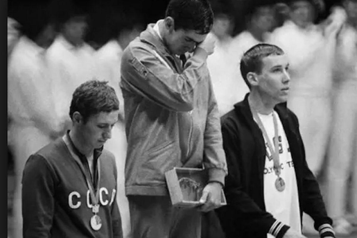 Felipe Muñoz, natación, oro, México 1968