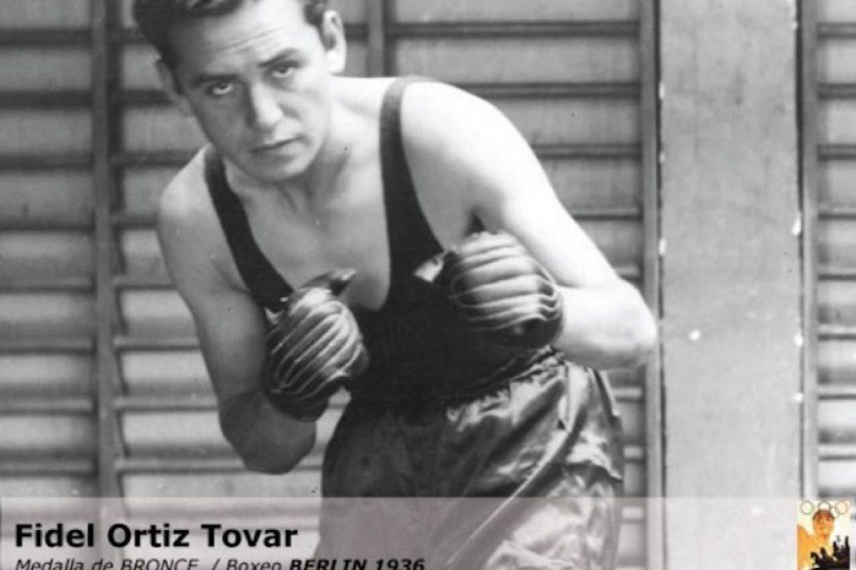Fidel Ortiz, boxeo, bronce, Berlín 1936 Foto:Archivo
