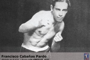 Francisco Cabañas, boxeo, plata, Los Ángeles 1932 Foto:Archivo