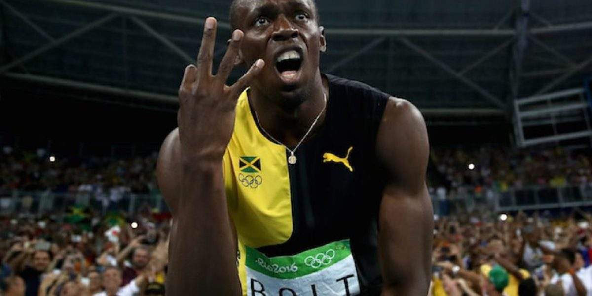 ¡Leyenda! Usain Bolt consigue el triple-triple en Río 2016