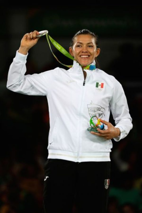 María Espinoza, taekwondo, plata, Río 2016 Foto:Getty Images