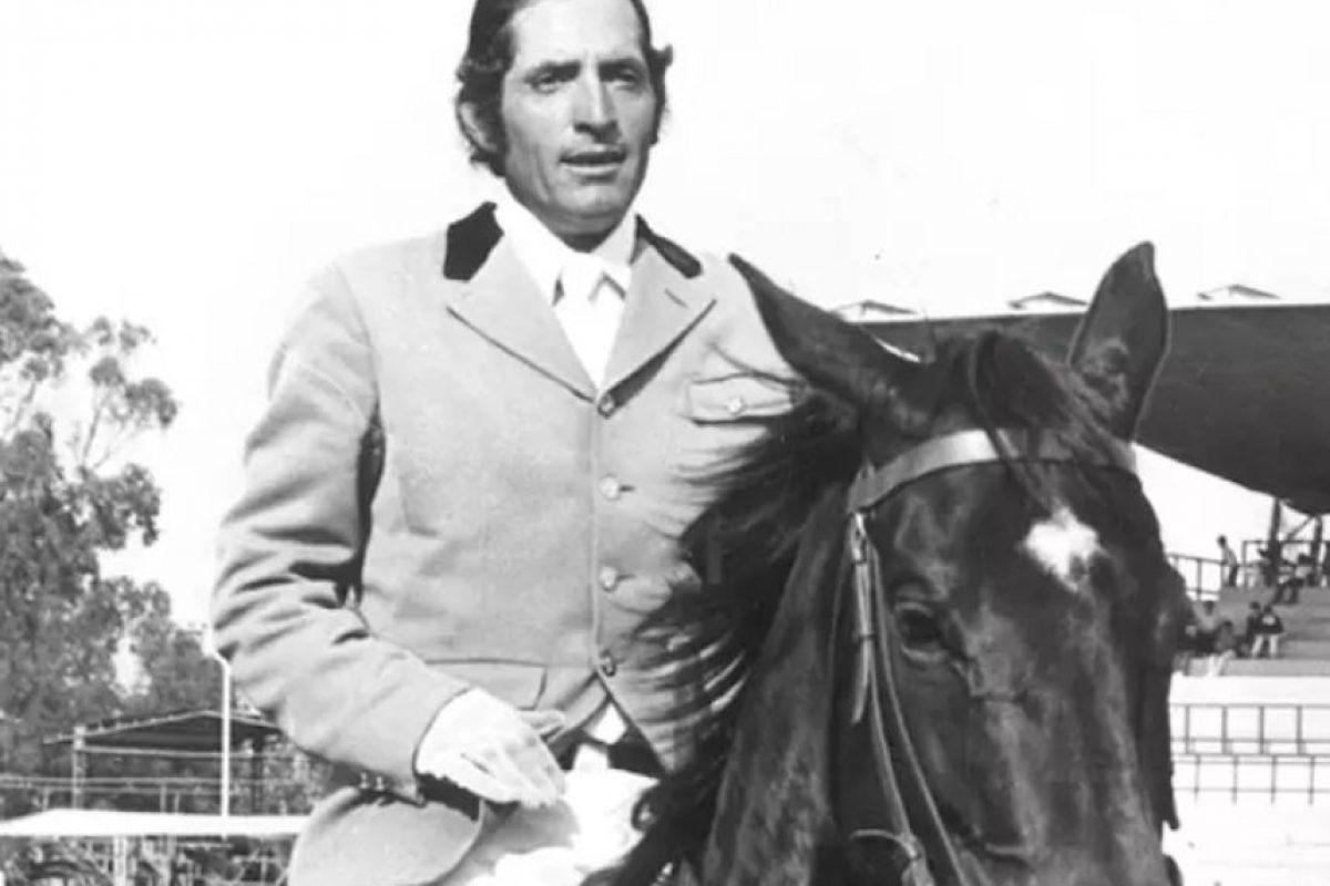 Joaquín Pérez de las Heras, ecuestre, plata, Moscú 1980 Foto:Archivo