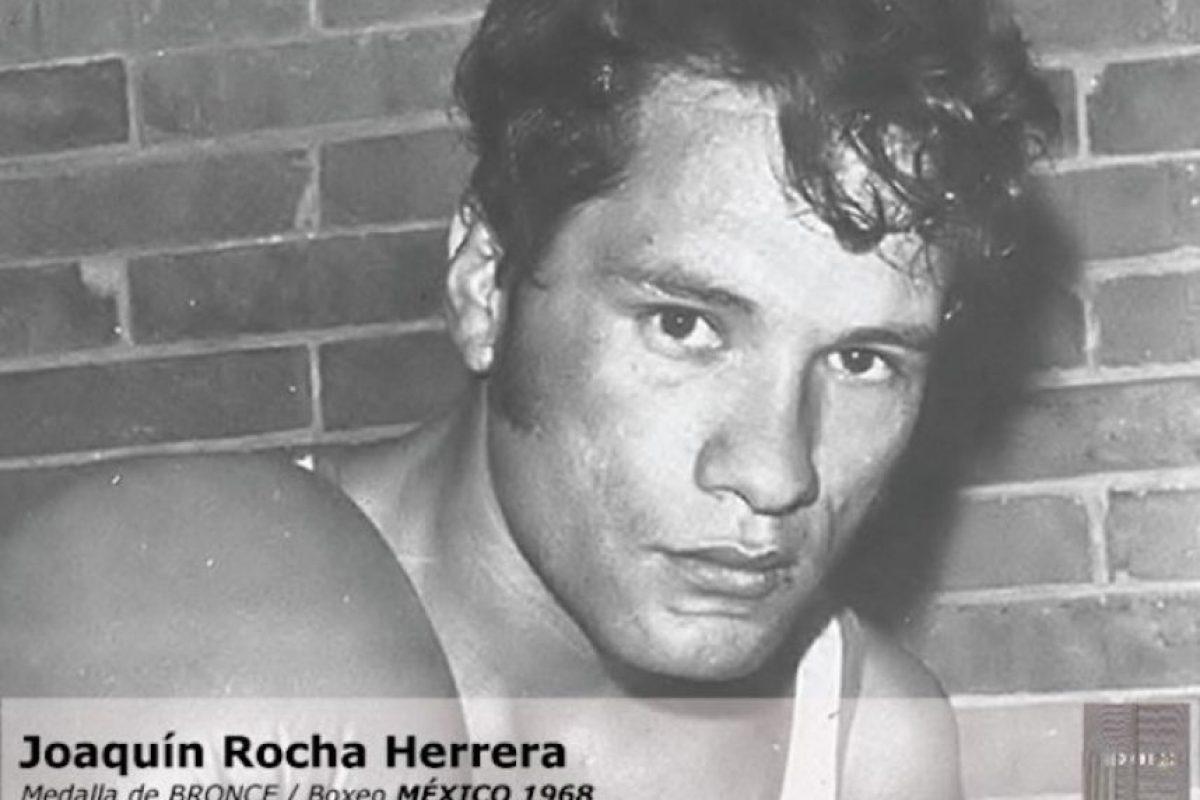 Joaquín Rocha, boxeo, bronce, México 1968 Foto:Archivo