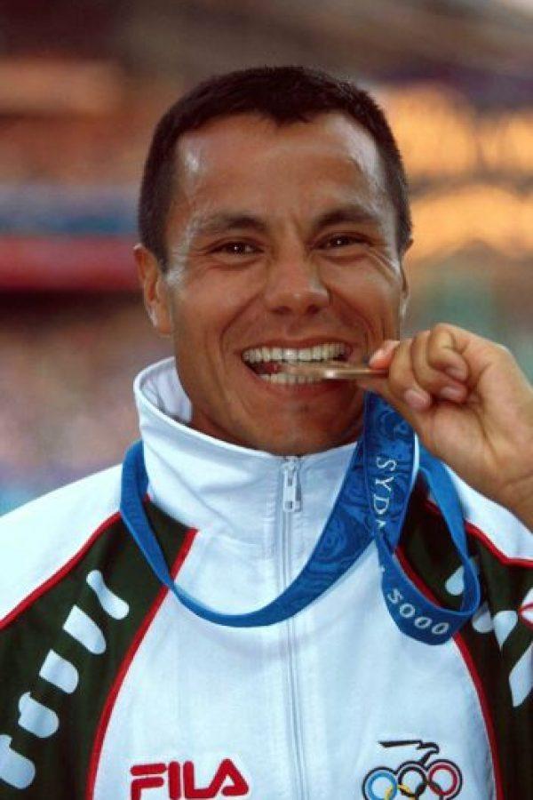 Joel Sánchez, marcha, bronce, Sidney 2000 Foto:Mexsport