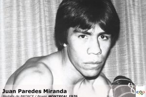 Juan Paredes, boxeo, bronce, Montreal 1976 Foto:Archivo