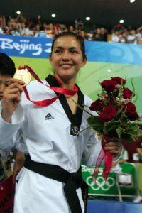 María Espinoza, taekwondo, oro Beijing 2008 Foto:Mexsport