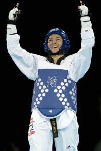 María Espinoza, taekwondo, bronce, Londres 2012 Foto:Mexsport