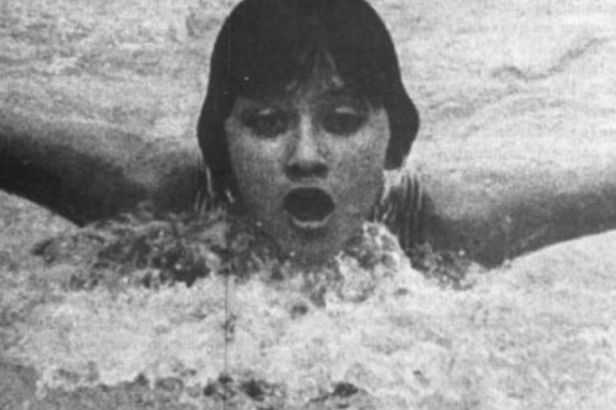 María Teresa Ramírez, natación, bronce, México 1968 Foto:Archivo