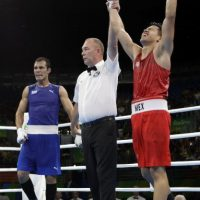 Misael Rodríguez, bronce, boxeo, Río 2016 Foto:AP