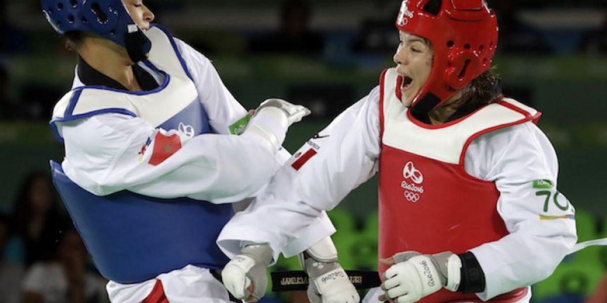 María del Rosario Espinoza califica a las semifinales en taekwondo