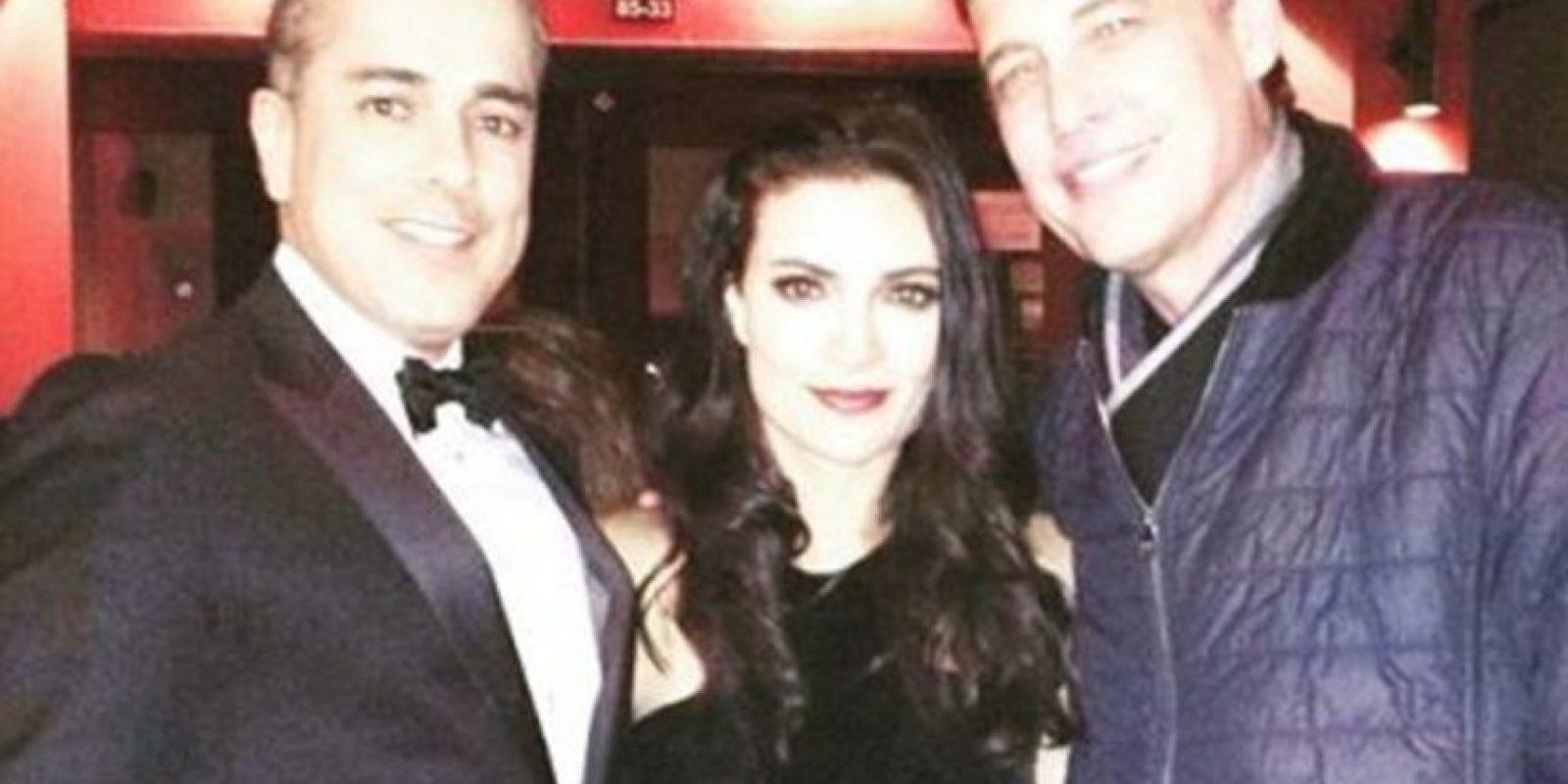 Acá, los tres actores luego de unos años. Foto:Instagram