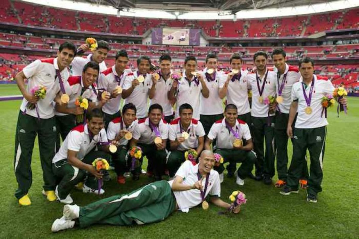 Futbol, oro, Londres 2012 Foto:Mexsport