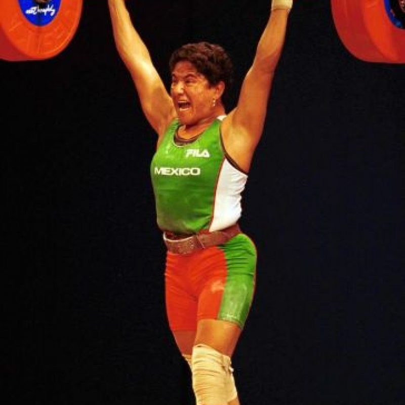 Soraya Jiménez, oro, levantamiento de pesas, Sidney 2000 Foto:Mexsport