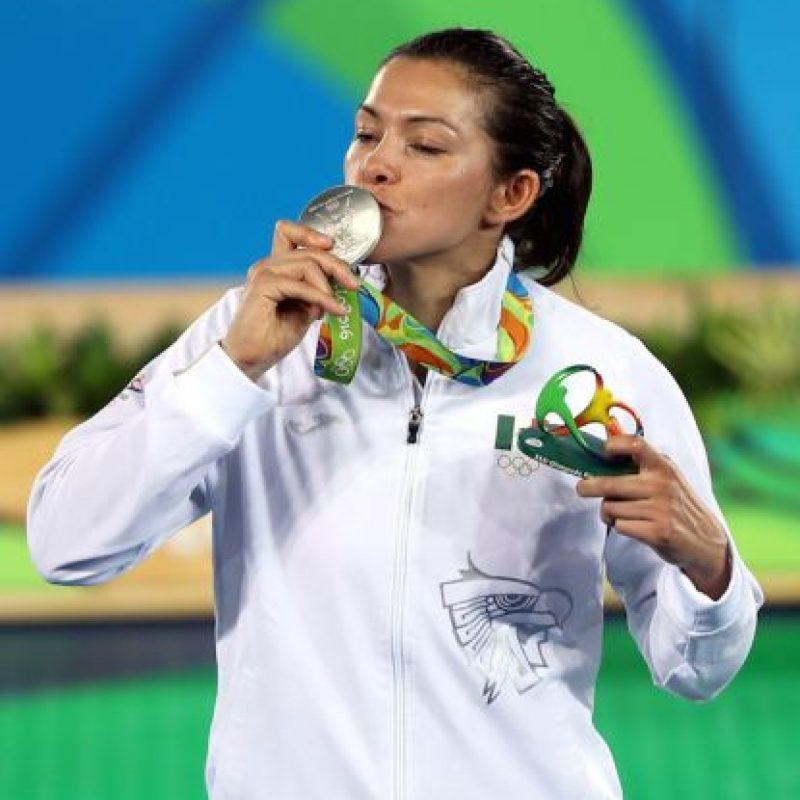 María Espinoza oro Taekwondo Beijing 2008, bronce Taekwondo Londres 2012, plata Taekwondo Río 2016 Foto:Mexsport