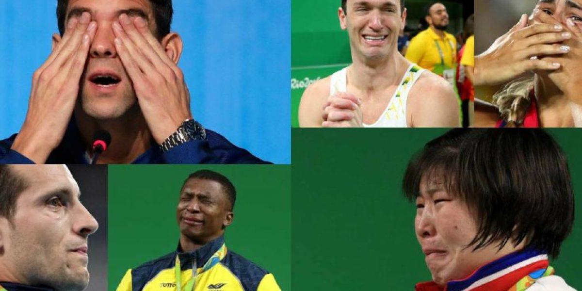 De alegría o tristeza, ellos nos hicieron llorar durante Río 2016