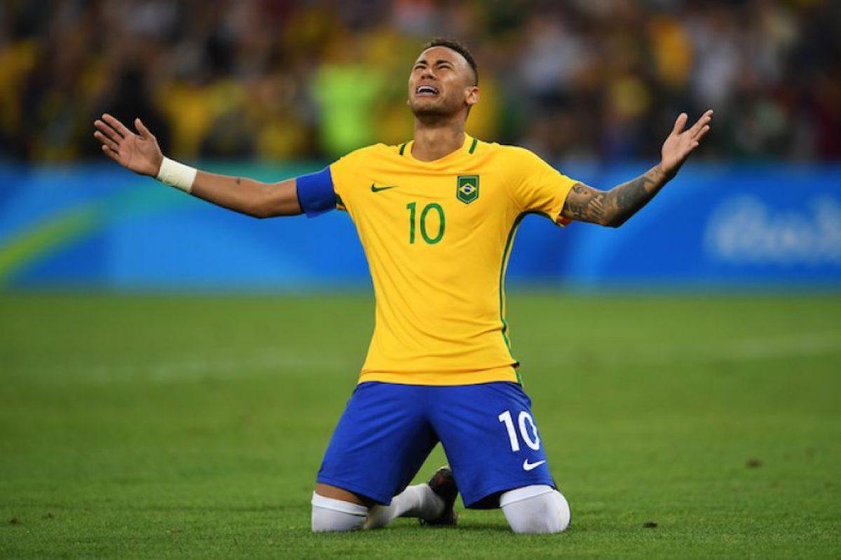 Brasil conquista el oro olímpico en futbol Foto:Getty Images