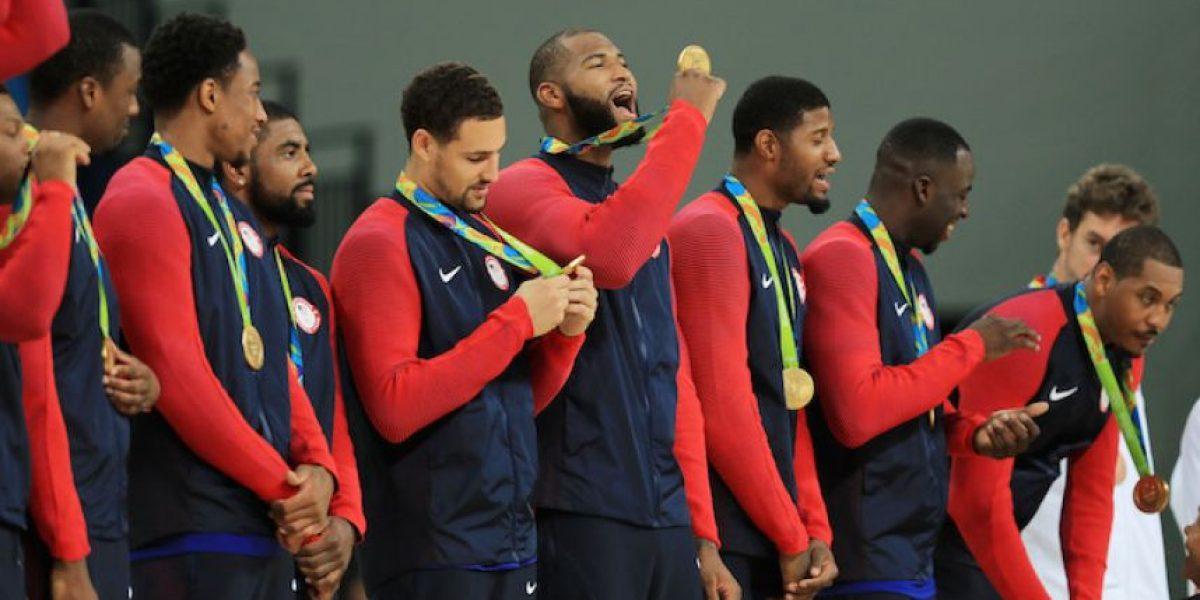 El Dream Team aplasta a Serbia y se lleva el oro olímpico de basquetbol