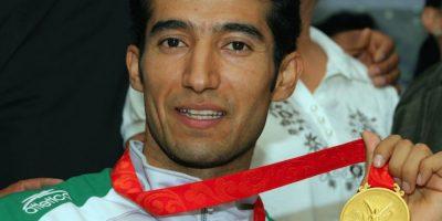 Guillermo Pérez oro Taekwondo Beijing 2008 Foto:Mexsport