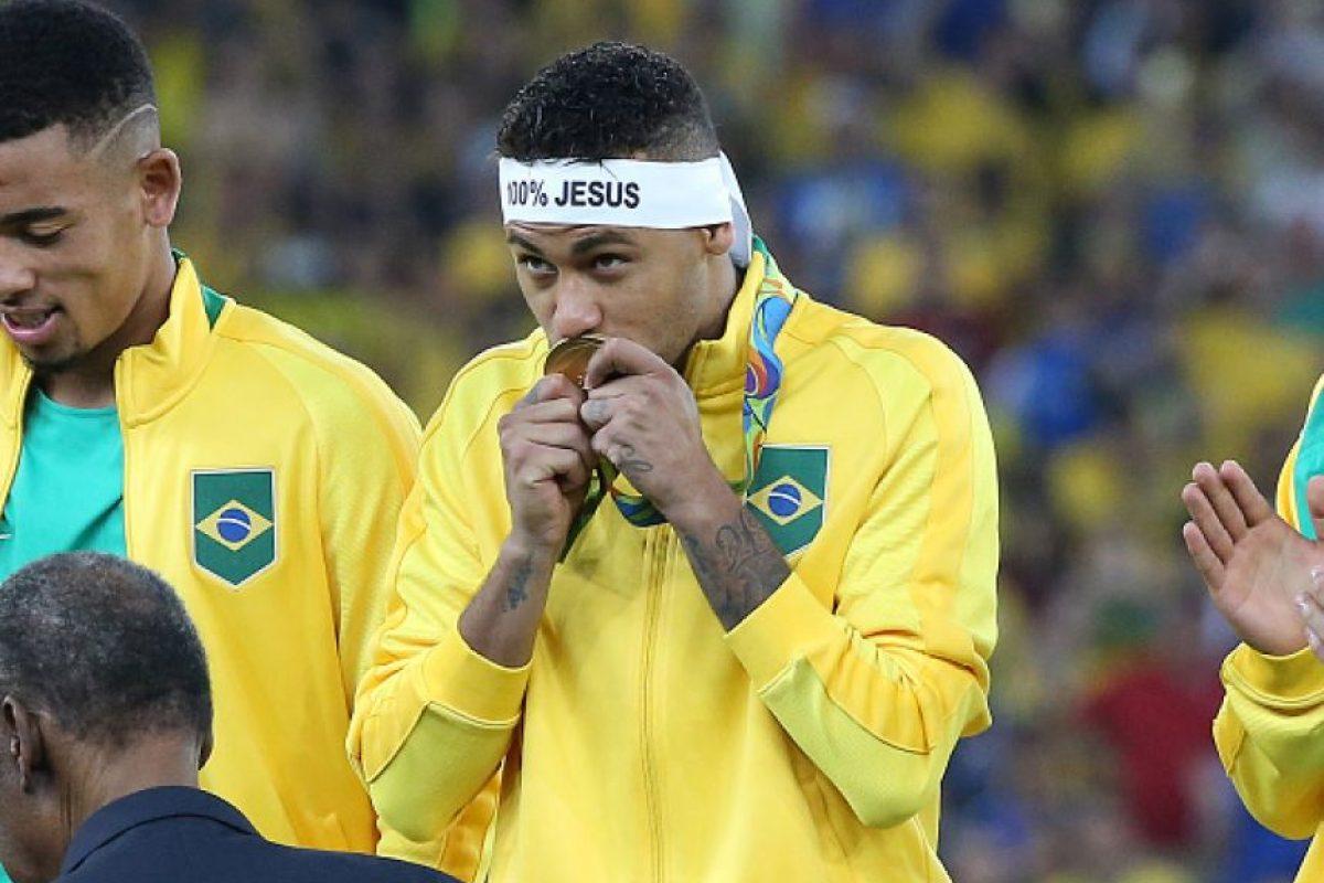 Neymar Jr, futbolista brasileño Foto:Getty Images