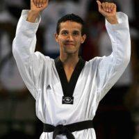 Oscar Salazar plata Taekwondo Atenas 2004 Foto:Mexsport