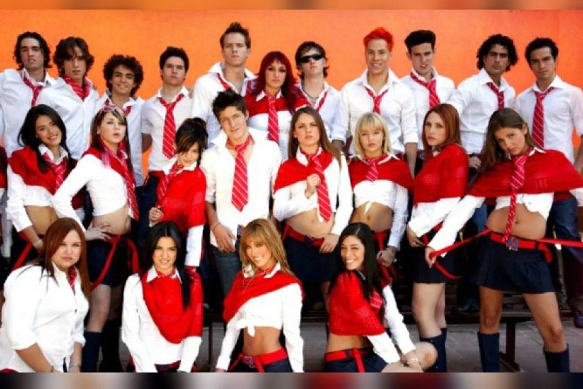 """Elenco de """"Rebelde"""" Foto:Televisa"""