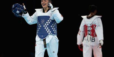 María del Rosario Espinoza, la única mujer con tres medallas olímpicas para México Foto:Getty Images