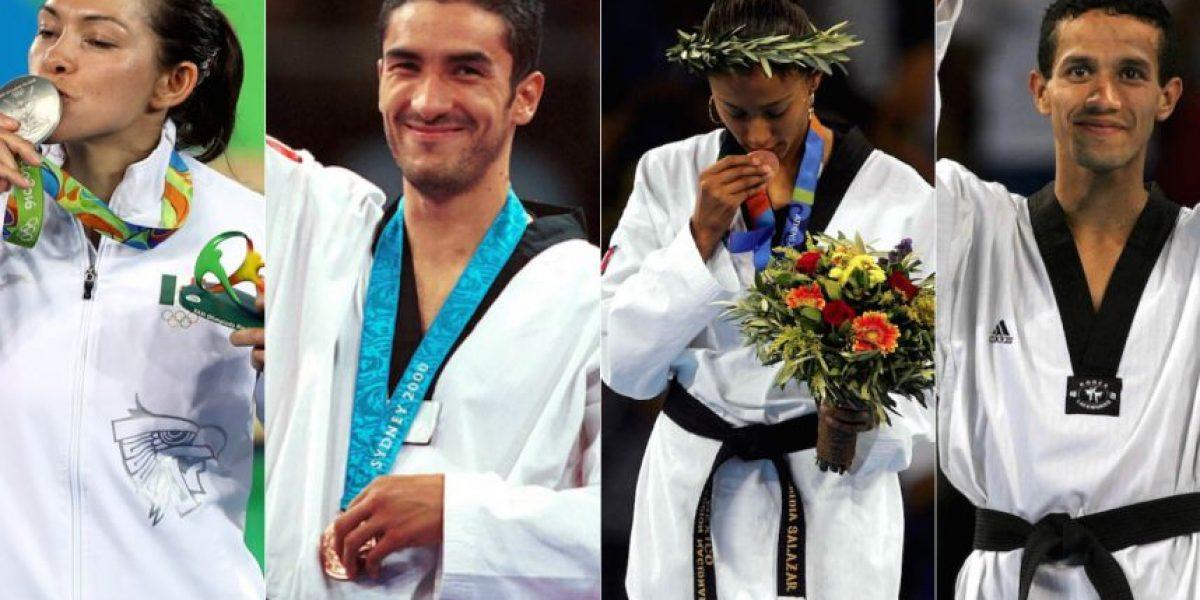 Conoce a los atletas mexicanos que han ganado medalla en taekwondo