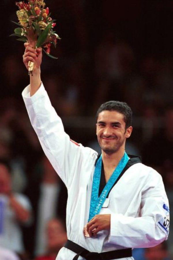 Víctor Estrada bronce Taekwondo Sidney 2000 Foto:Mexsport