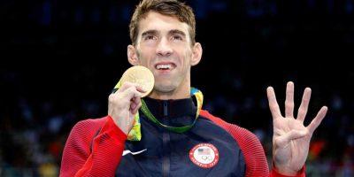 Se fue de Río con 5 oros y una plata. Foto:Getty Images