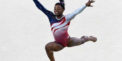 Dominó la gimnasia y ganó cuatro medallas de oro y una de bronce. Foto:Getty Images