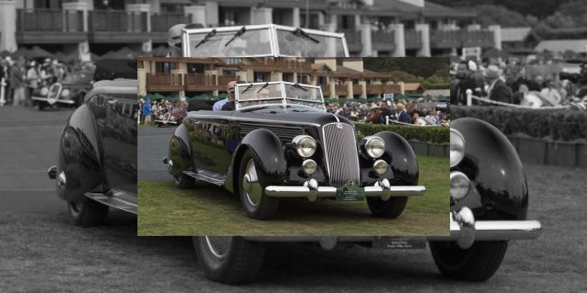 El mejor clásico de Pebble Beach 2016: Lancia Astura Pininfarina Cabriolet de 1936
