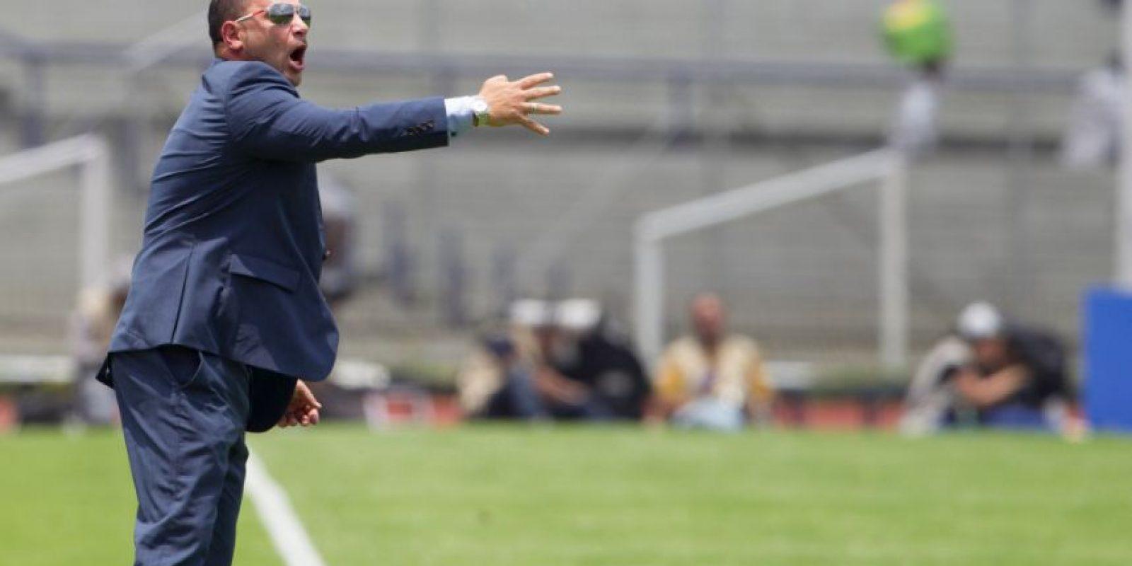 La peor goleada en contra para Antonio Mohamed, fue la de este fin de semana pasado. Foto:Mexsport