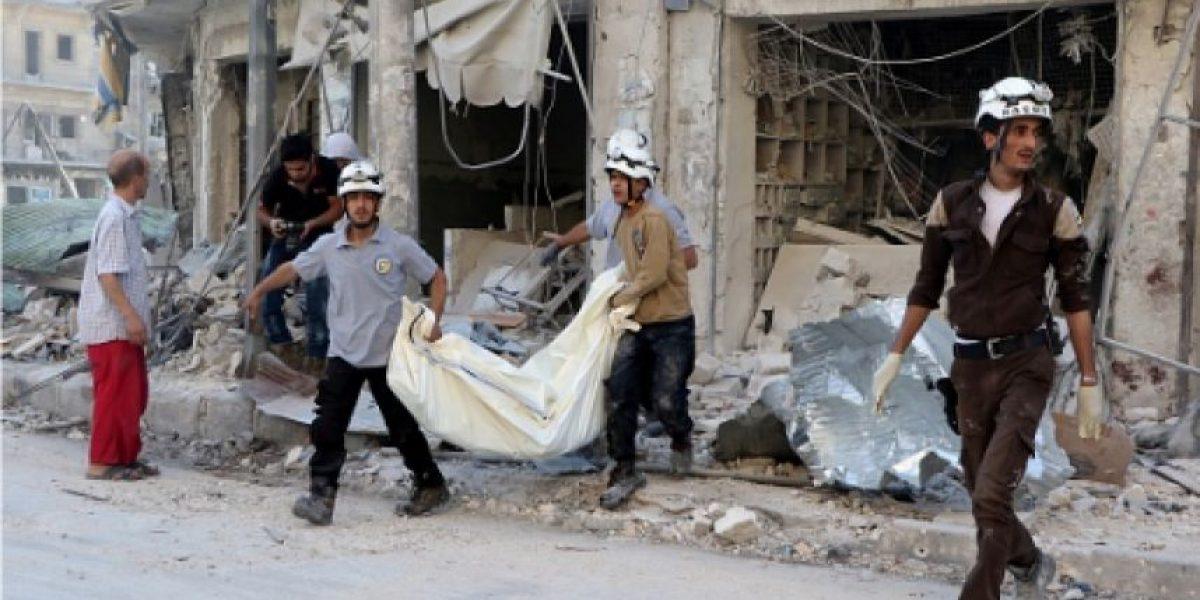 Guerra en Siria ha dejado en Alepo 1.400 civiles muertos