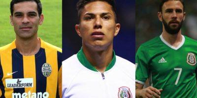 Mexicanos en la Serie A Foto:Especial