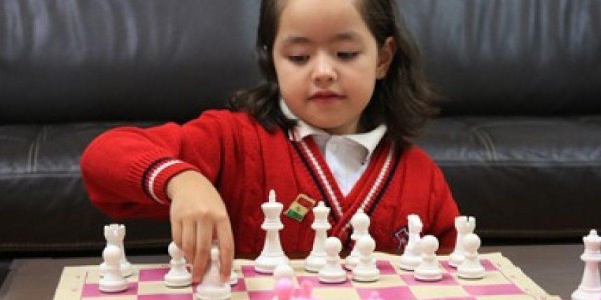 Ariadna, la niña mexicana de siete años campeona internacional de ajedrez