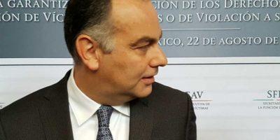 Jaime Rochin del Rincón, titular de la Comisión Ejecutiva de Atención a Víctimas Foto:Ignacio Gómez