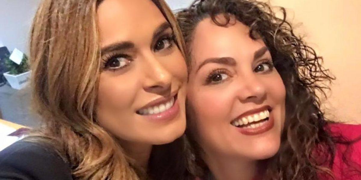 Tatiana festeja su regreso a Televisa