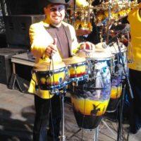 Estas fueron las percusiones que les robaron Foto:Facebook