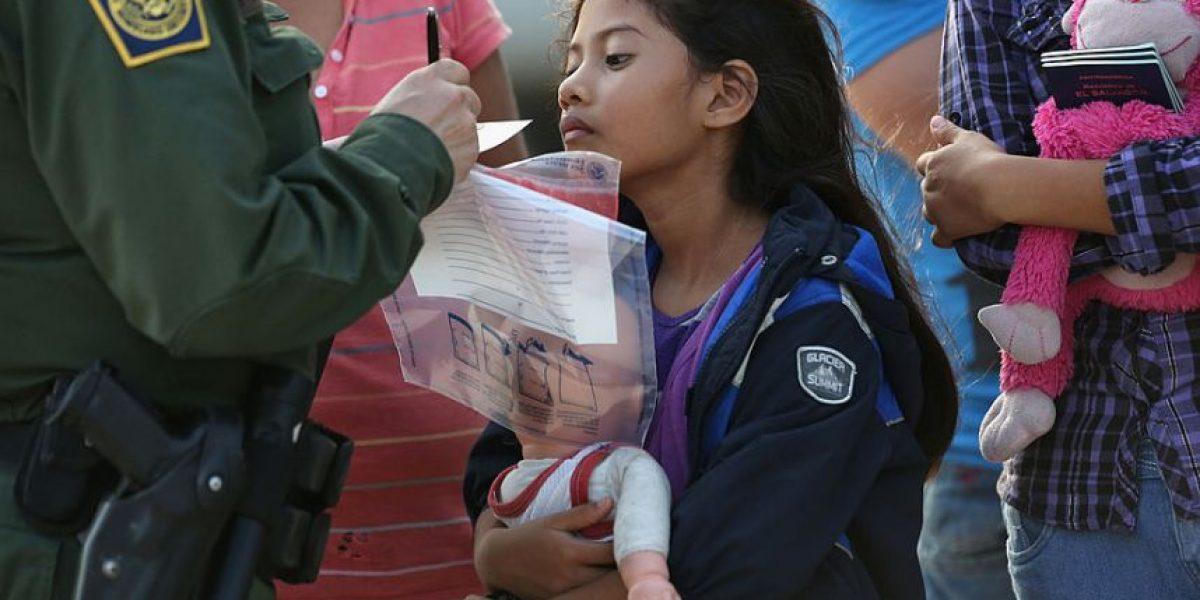 Estados Unidos detiene a 26 mil niños centroamericanos