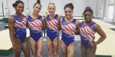 El equipo femenino de gimnasia de Estados Unidos se impuso en Río 2016 Foto:Instagram