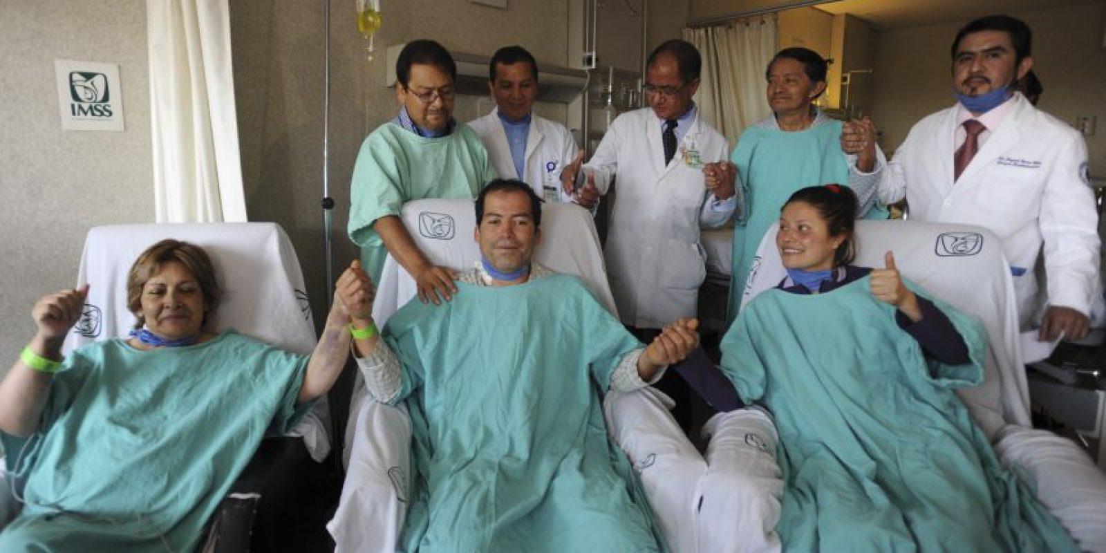 En el 2015 los trasplantes se incrementaron 10% en personas vivas, y 11% con fallecidos en el IMSS Foto:cuartoscuro
