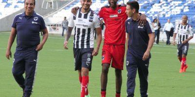 Algunos jugadores salieron con buen humor pese a la mala racha. Foto:Israel Salazar