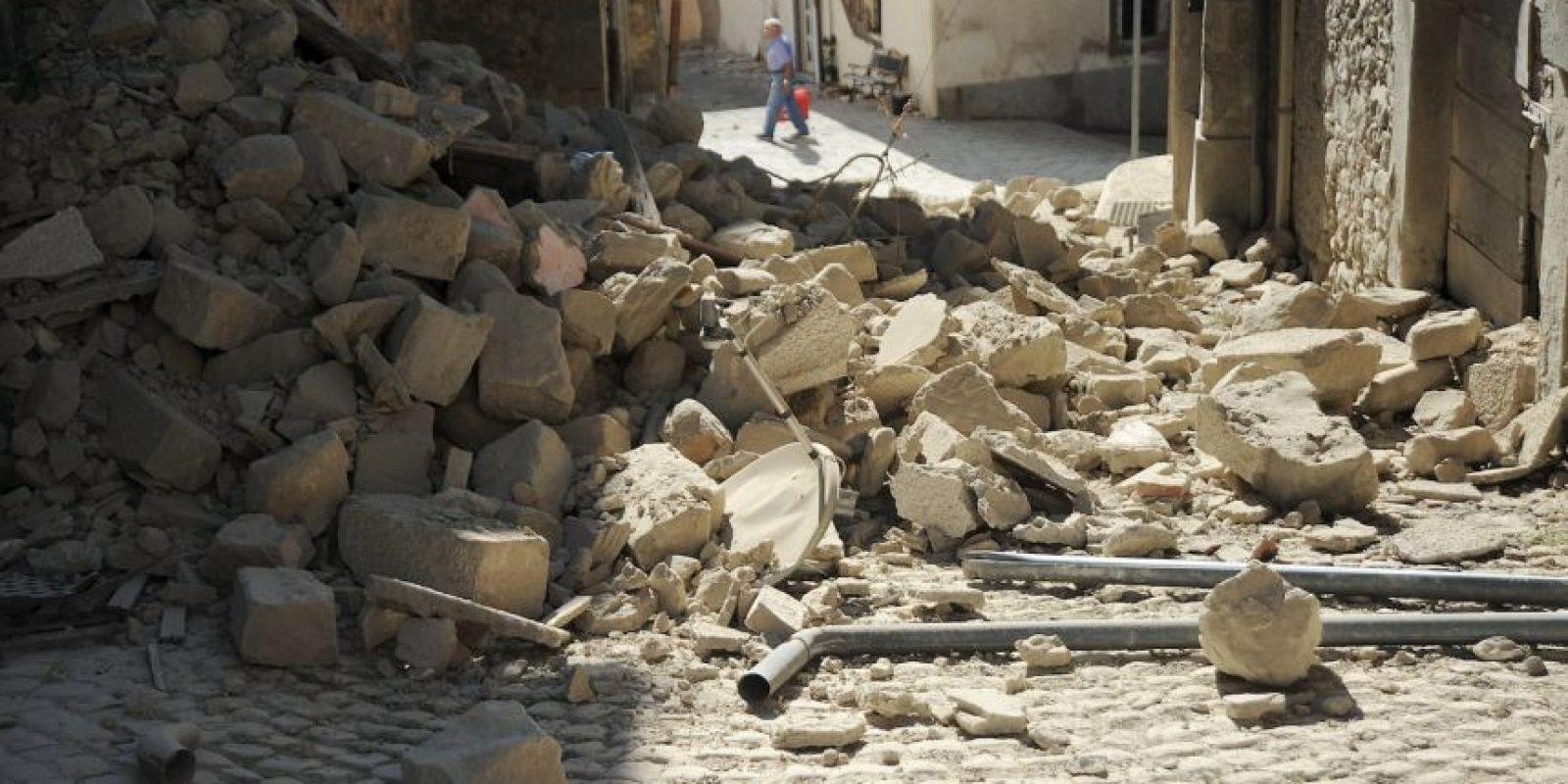 Tuvo una magnitud de 6.2 Richter Foto:AFP